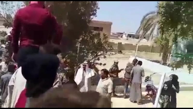 Очередные протесты в Ракке
