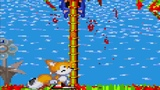 Sonic.exe Nightmare Beginning Tails Hill Act1 Tails is dead from Sonic.exe jumpscare above the tree