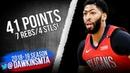 Anthony Davis Full Highlights 2018 12 10 Celtics vs Pelicans 41 Pts FreeDawkins