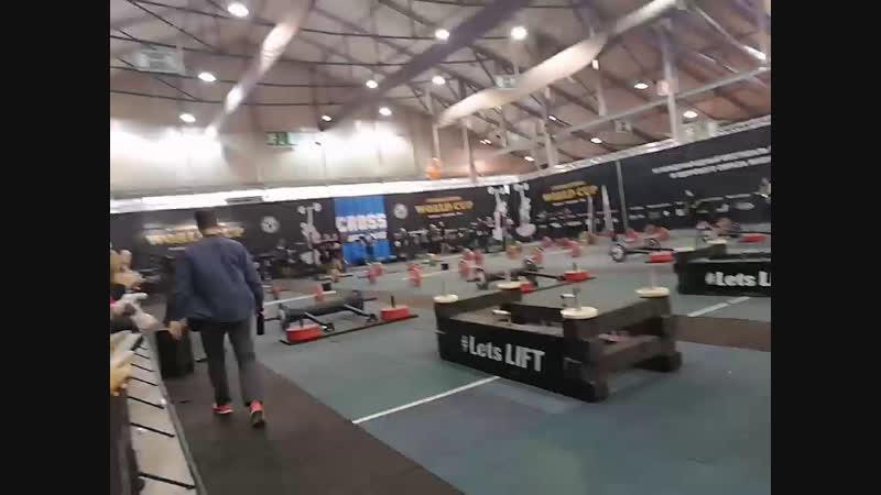 Crosslifting snpro2018 Maximus pz