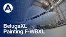 BelugaXL: Painting the next-generation cargo airlifter