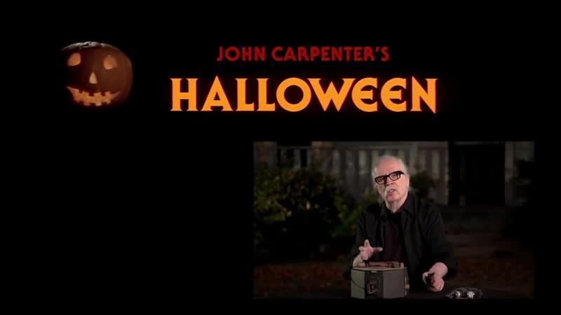 John Carpenter Plays the Halloween Theme on Nintendo Labo
