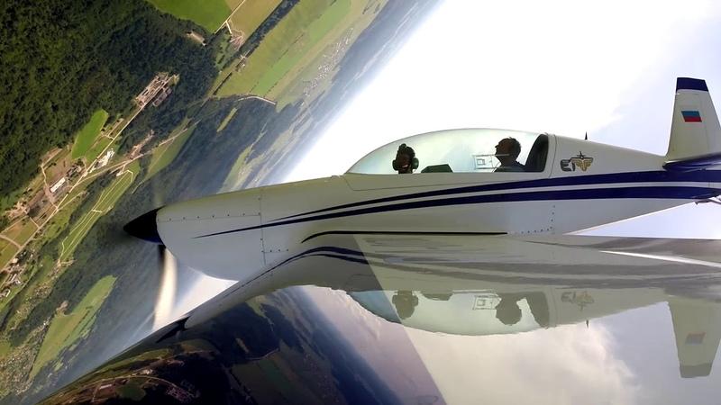 Полёт на Extra-300L, Гостилицы 16.06.2018