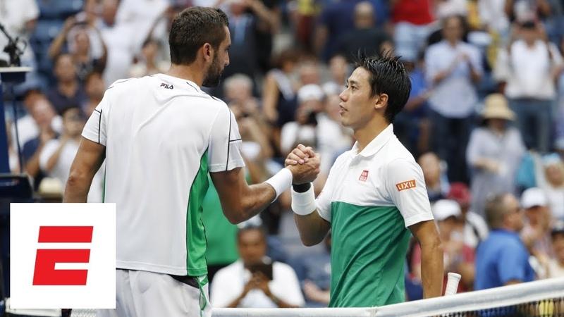 Kei Nishikori vs. Marin Cilic - обзор четвертьфинала