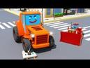 Trator e Pequeno Amigos para Crianças NOVO Desenhos animados carros compilação de 1 hora