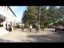 Концерт посвящённый вручению школьного знамени . Ям-Тесовская СОШ.