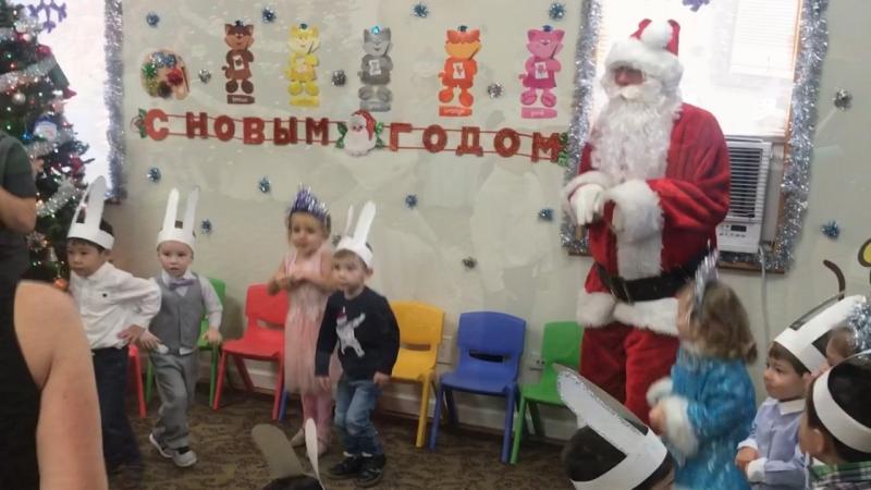 Елка в детском саду