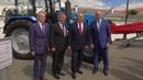 Назарбаеву показали первый в России трактор работающий на сжиженном газе