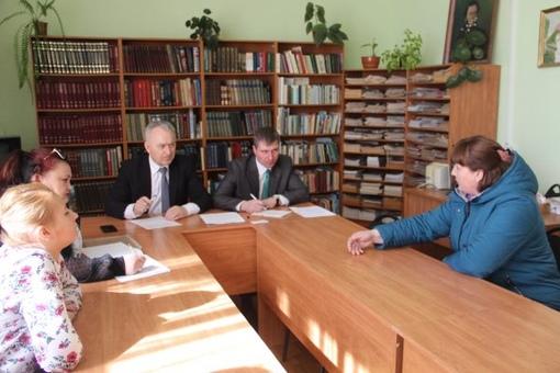 Уполномоченный по правам человека в Брянской области Вячеслав Тулупов встретился с жителями Брасовского района