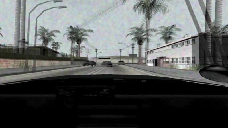 LAPD lspd chase shootout Dashcam GTA SA