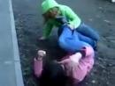 махач!! Малолетки Школьницы Уличные драки RU