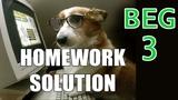 Homework 3 Beginner C++ Game Programming