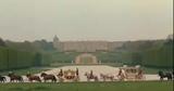 Marie Antoinette rides in Versailles