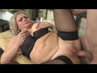 Lexa (43) - hot housewife fucks in pov style (milf, blondie, natural tits, shaved pussy, hardcore, oral, pov)