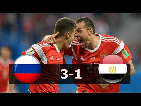 Russia vs Egypt 3-1 Highlights 19.6.2018