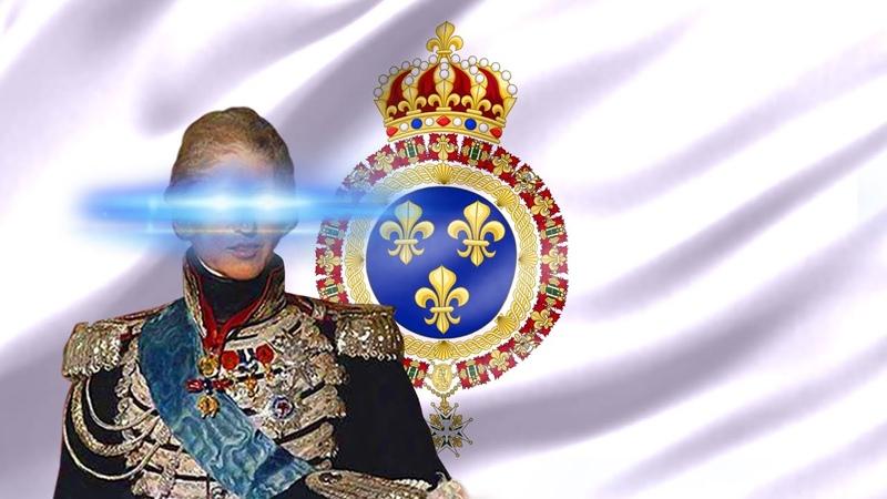 🅱ourbon Restoration (1814-1815 1815-1830) Le Retour des Princes français à Paris [Earrape]