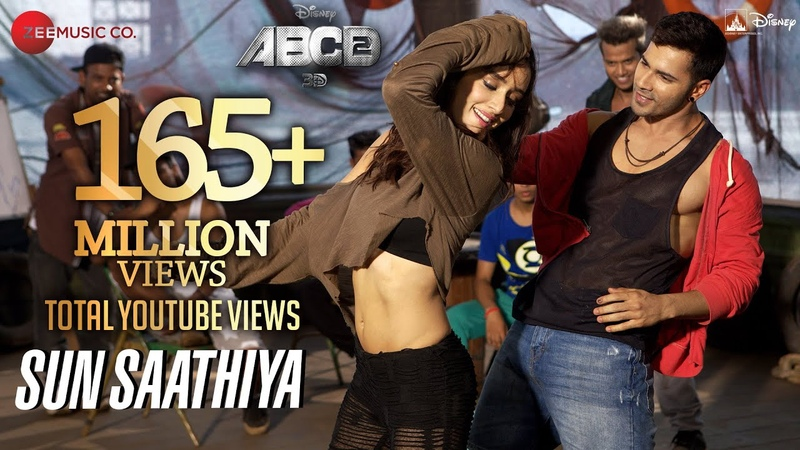 Sun Saathiya Full Video | Disneys ABCD 2 | Varun Dhawan , Shraddha Kapoor | Sachin Jigar | Priya S