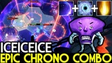 Iceiceice Faceless Void Epic Chrono Combo with Cataclysm 7.19 Dota 2