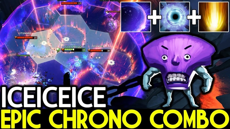 Iceiceice [Faceless Void] Epic Chrono Combo with Cataclysm 7.19 Dota 2