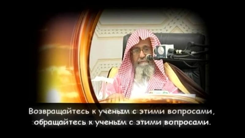 Шейх Салих Аль Фаузан такфир правителей дело ученых