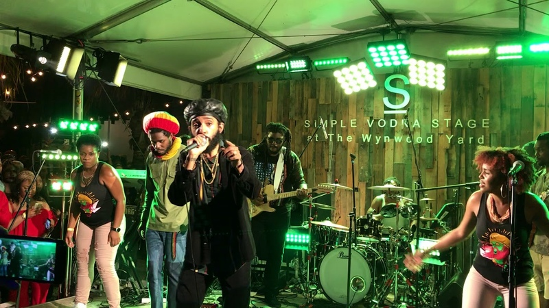 PROTOJE feat. CHRONIXX!! No Guarantee @ Wynwood Yard Miami, FL 19/May/18
