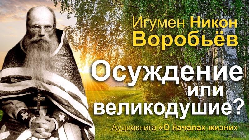Отчужденность или любовь игумен Никон Воробьев