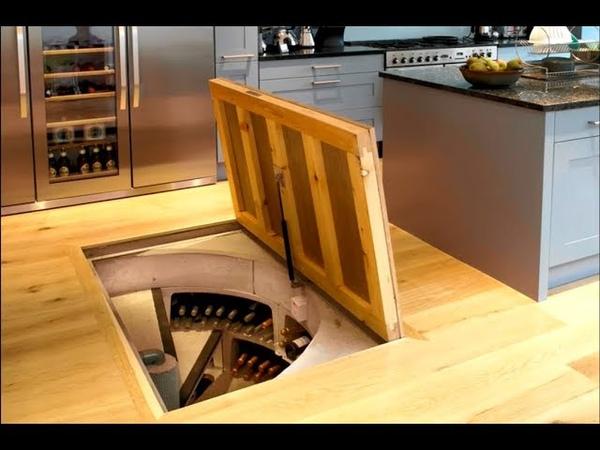 Increibles Habitaciones Secretas   Ingeniosos Muebles Ocultos