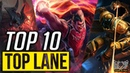 Top 10 Best TOP Laner Champions Patch 8.21 | League of Legends