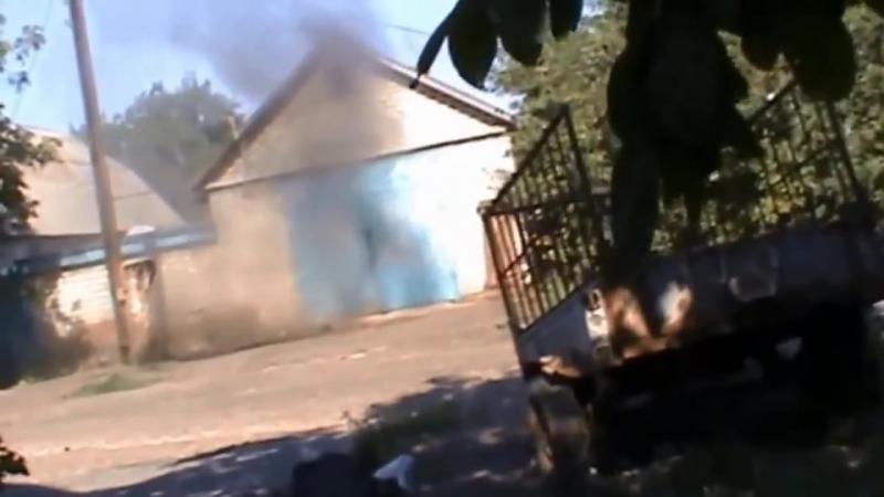 Отряд Мотороллы ведет бой в Иловайске