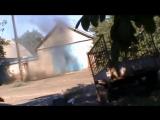 Отряд Мотороллы ведет бой в Иловайске.