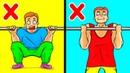 10 Упражнений Для Мужчин Чтобы Нарастить Мышечную Массу