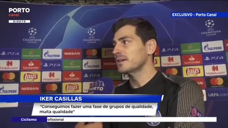 Iker post-match interview after Galatasaray-FC Porto, 11.12.2018 (part 2)