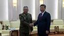 ВПекине встретились министр обороны РФСергей Шойгу ипредседатель КНР СиЦзиньпин Новости Первый канал