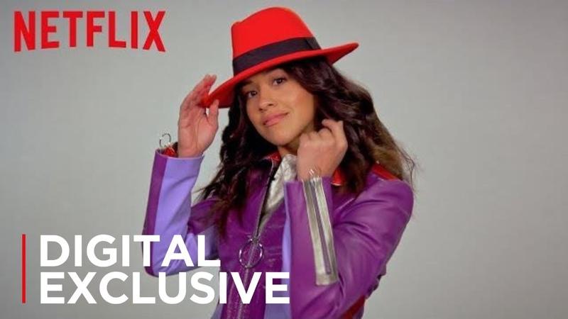 Carmen Sandiego | 90's Favorites with Carmen Sandiego's Gina Rodriguez [HD] | Netflix