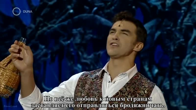 Dolhai Attila — Vad cigánylegény vagyok (Cigányszerelem), 2012 [rus sub]