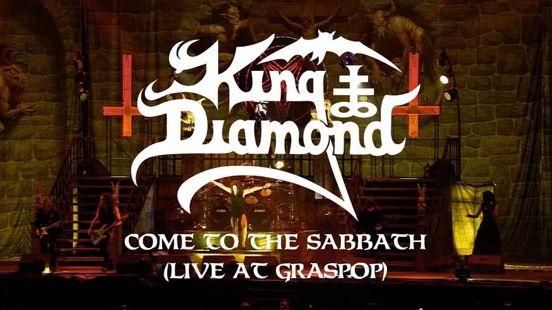 King Diamond Come to the Sabbath (Live at Graspop) (CLIP)