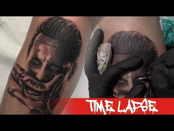 Jared Joker - Tattoo time lapse