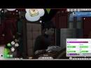 Элен The Sims 4 Challenge Вампир Черный вдовец Вампирская сущность 1