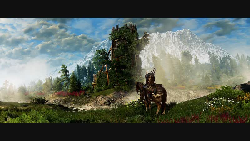 The Witcher 3 Wild Hunt Win10 ASUS GTX 1050 2G На Скеллиге...