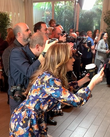 """Second Act on Instagram """"We all need @leahremini in our lives! Check out what happened when she joined the photographer lineup at the SecondAct p..."""