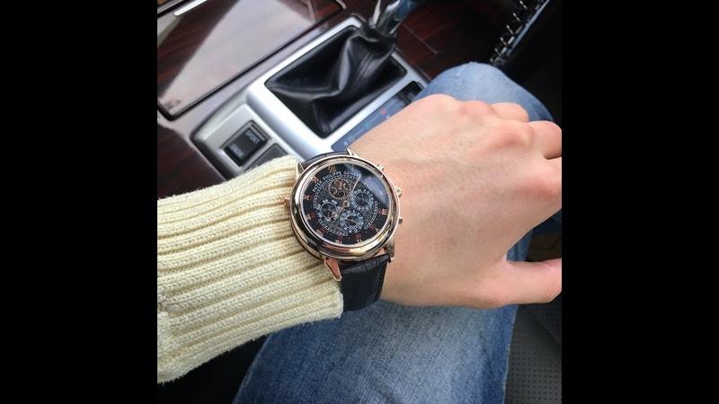 Часы Patek Philippe Sky Moon Tourbillon! Легендарные наручные часы Sky Moon Tourbillon от бренда Pat