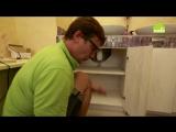 Как установить светодиодную подсветку в шкафчик ванной