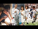 Cristiano Ronaldo's fiancée Georgina with sister and CR7 JR before and after Cup UEFA