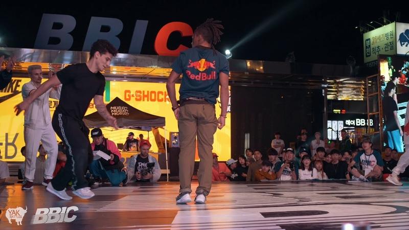 RB BC ONE ALLSTARS vs. EUROPEAN DREAMTEAM 2018 Bboy Crew Final BBIC, S.Korea | YAK BATTLES