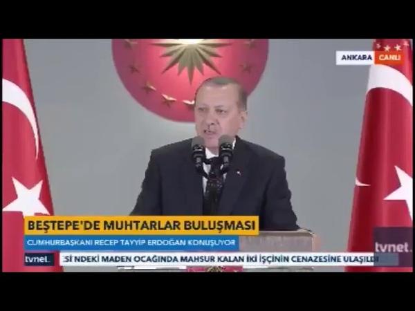 Recep Tayyip Erdoğan-Şehit Aydoğan Aydının Hankeye Ağıt Şiirini Okudu
