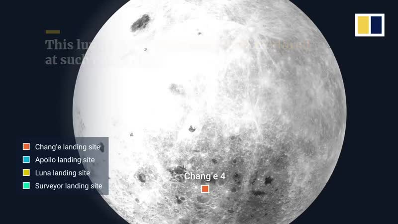 China's lunar probe lands on far side of the moon