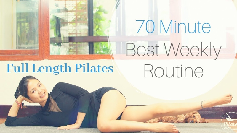 70 Minute BEST Pilates Weekly Routine For FAT LOSS | Pilates With Hannah