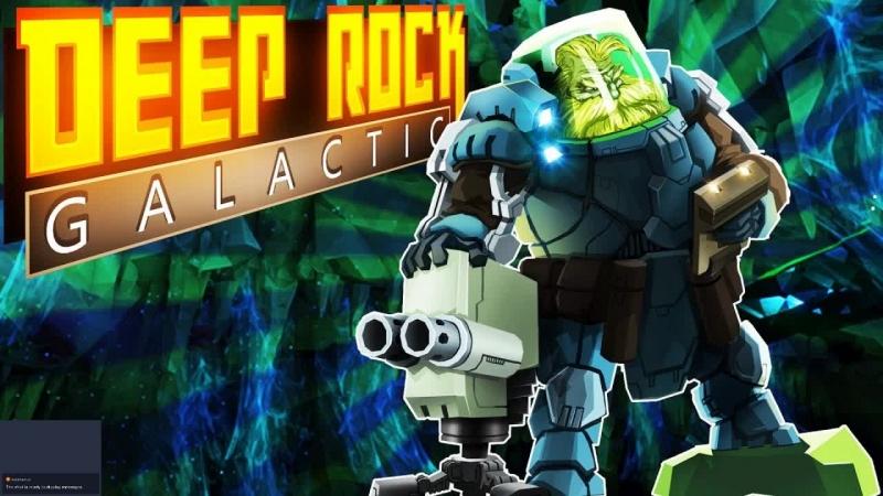 Deep Rock Galactic отряд дворфов покоряет галактику