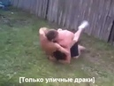 Fight Video Драки Уличная драка борец против боксера