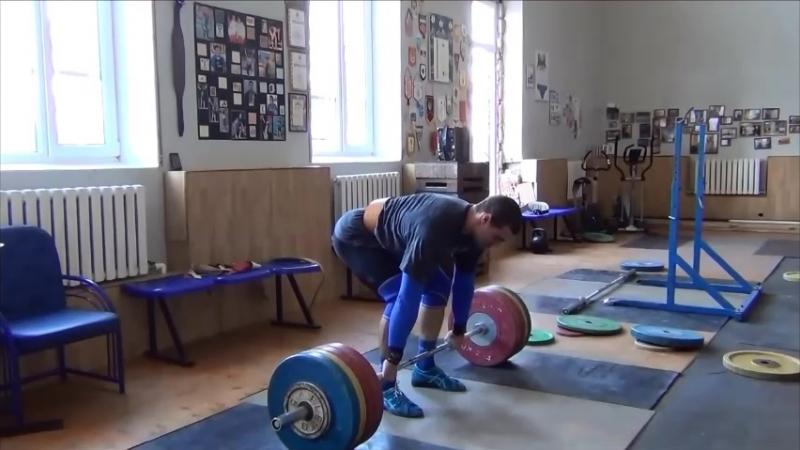 Владислав Ригерт - подъем на грудь с остановкой